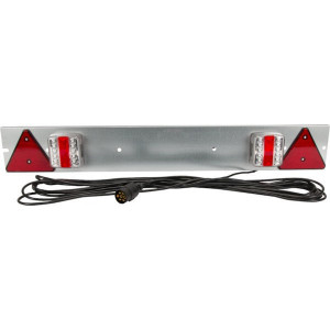 Gopart LED-balk verzinkt 1000mm, 4m kabel - LA65021 | 12/24 V | 1000 mm