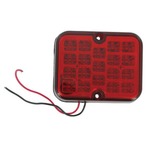 Gopart LED mistlamp - LA91263GP | 101 mm | E4-38R-00 4053 | 100 x 80 x 29 mm | 0.25 m | Vierkant | Mistachterlamp