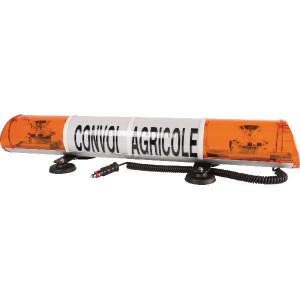 Sirena LED-lichtb. magn. 970mm Convoi Agricole - LA970MLED | 970 mm | Met kabel en stekker | ECE R65 R10