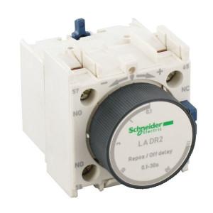 Schneider-Electric Hulpschakelaarblok, vertraagd - LADR2 | 0.1...30sec. | 1 pcs maker | 1 pcs verbreker