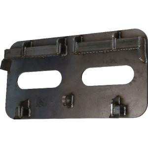 Bakadapter - LBASCH345520FRWS | Geheel gelast | Zeer goede pasvorm | 345 mm