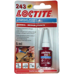 Loctite Schroefdrdb. gem.sterk 243-5 ml - LC1370535 | Donkerblauw