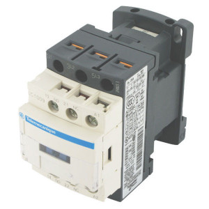 Schneider-Electric Magneetschakelaar 9A, 4kW - LC1D09E7 | 77 mm | 86 mm | 2,2 kW | 4 kW | 5,5 kW | 1 pcs maker | 1 pcs verbreker | 9 A | 48V AC V