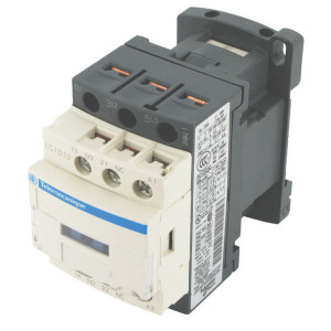 Schneider-Electric Magneetschakelaar 12A, 5,5kW - LC1D12B7   77 mm   86 mm   3 kW   5,5 kW   7,5 kW   1 pcs maker   1 pcs verbreker   12 A   24V AC V