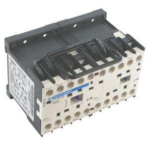 Schneider-Electric Omkeermagneetschakel., 9A, 4kW - LC2K0901B7 | 57 mm | 50 mm | 2,2 kW | 4 kW | 1 pcs verbreker | 9 A | 24V AC V