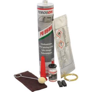 "Teroson Terostat 8596 ""Standaard"" set - LC450532 | l | Zwart | 310 ml | -40 °C | 120 °C | Zwart"
