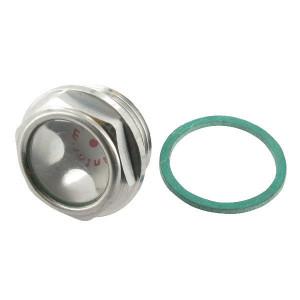 Mintor Olieniveau oog M18x1,5 alu. - LCPM1815M | 9 mm | Aluminium | M18 x 1,5