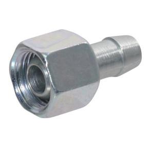 Koppeling M16 - LG1016 | DIN 2353 | Verzinkt | M 16 x 1,5 metrisch
