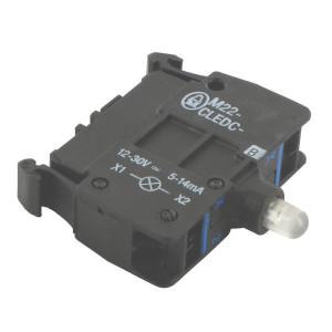 Eaton LED-element bodem blauw85-265V - M22CLEDC230B