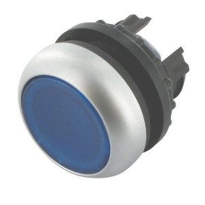 Eaton Signaaldrukknop terugveer blau - M22DLB   IP67 / IP69K IP