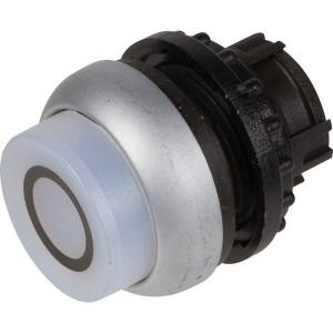 Eaton Signaalknop terugveer hoogwit0 - M22DLHWX0   IP67 / IP69K IP