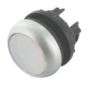 Eaton Signaaldrukknop terugveer wit - M22DLW   IP67 / IP69K IP