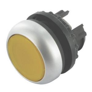 Eaton Signaaldrukknop terugveer geel - M22DLY   IP67 / IP69K IP