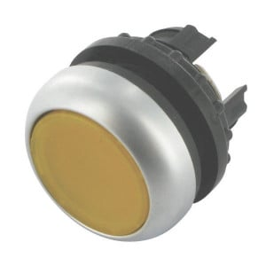 Eaton Signaaldrukknop gearret. geel - M22DRLY | IP67 / IP69K IP