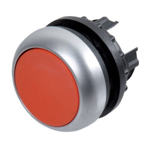 Eaton Drukknop gearret. rood - M22DRR | IP67 / IP69K IP
