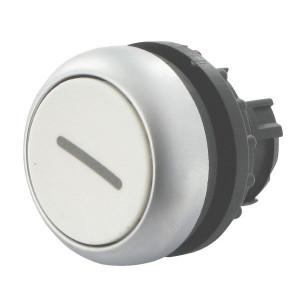 Eaton Drukknop gearret. wit 1 - M22DRWX1 | IP67 / IP69K IP