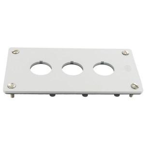 Eaton Inbouwplaat, 3 gaten 22,5mm - M22E3