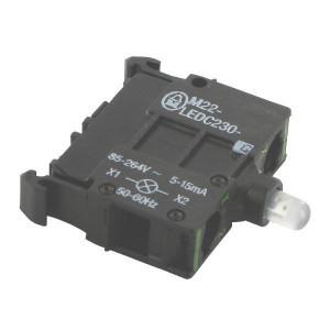 Eaton LED-element bodem blauw 85-265V - M22LEDC230B