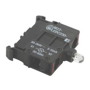 Eaton LED-element bodem rood 85-265V - M22LEDC230R