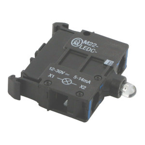 Eaton LED-element bodem blauw 12-30V - M22LEDCB