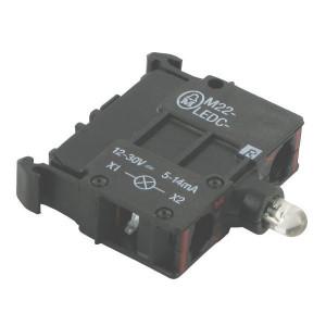 Eaton LED-element bodem, rood 12-30V - M22LEDCR