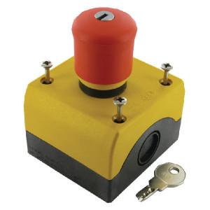 Eaton Drukknop met sleutel, Noodstop - M22PVSKC11IY