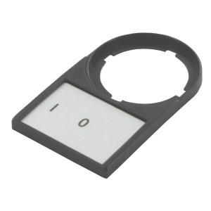 Eaton Schildplaatdrager 0 I compleet - M22SSTX88