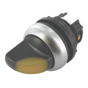 Eaton Signaalkeuzeschakelaar, geel - M22WLK3Y