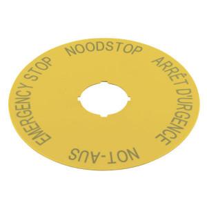 Eaton Schild, Noodstop, 4 talen - M22XAK3