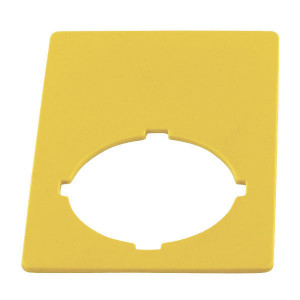 Eaton Label, Noodstop, blanco - M22XZK