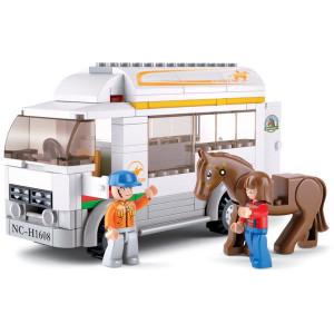 Sluban Paardenvrachtwagen - M38B0559 | 28.5x23.7x5.4
