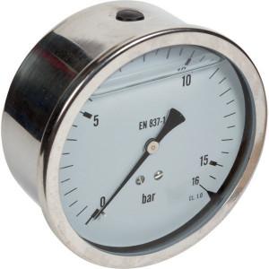 Manometer D100 RA 0-16 - MA10016ARVS