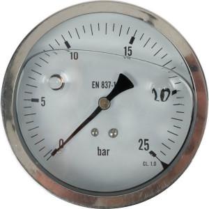 Manometer D100 RV 0-25 - MA10025RVS