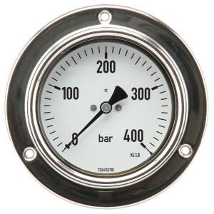 "ET Manom.paneel Ø100 0-400bar ½"" - MA100400P08SSGF | paneelbouw | 0 400 bar | 100 mm"
