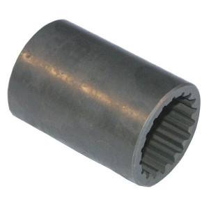 Borelli Splinebus glad: 25x22-14 - MA14 | 25,5 mm | DIN 5482, 25x22
