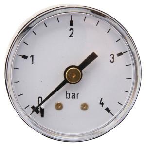 "Gasli Manometer Ø40 0-4bar ⅛"" achter - MA404B02ST | Achter | 0 4 bar | 40 mm"
