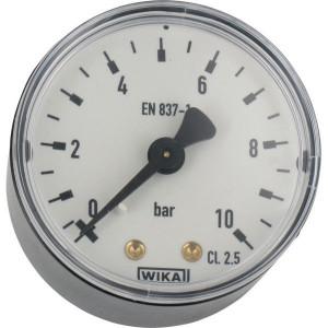 WIKA Manom.aansl. a. ø50 0-10bar - MA5010B04PL | Achter | 0 10 bar | 50 mm