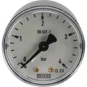 WIKA Manom.aansl. a. ø50 0-4bar - MA504B04PL | Achter | 0 4 bar | 50 mm