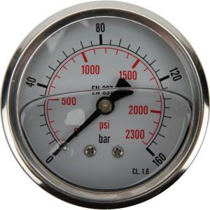 Manometer D63 RA 0-160 - MA63160ARVS