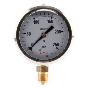 "Manometer Ø63 0-40bar ¼"" ond - MA6340L04SSGF 