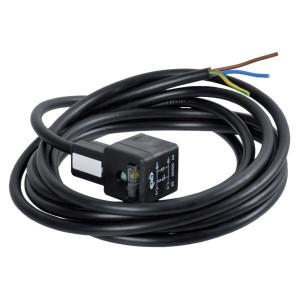 ATAM/CNE DIN43650A Kabel,diode,24V,3m - MA634D54PA05300 | Kortere aansluittijd | Let op polariteit! | 0.75 mm² mm² | 3 m