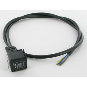 ATAM/CNE Kabel+connector 12-24V LED 1m - MA634V57BA05100 | Kortere aansluittijd | 0.75 mm² mm² | 24V AC/DC | Ja 30Vrms 0,9joule | 1 m