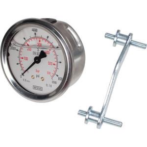 WIKA Manometer 63mm 600bar/9000p - MA63600AM