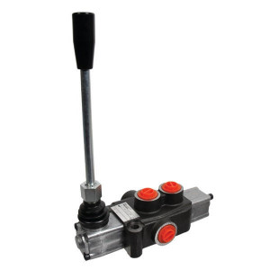 "Gopart Stuurventiel MBV4-A1-G-KZ1 - MBV41001GP | Dubbelwerkend, veerretour | 1 sectie | 250 bar | Nitrilrubber (NBR) | -20 +80 | 180 bar | Open circuit | 35 l/min | 50 bar | 3/8"" | Manual operation | Inbusschroef"