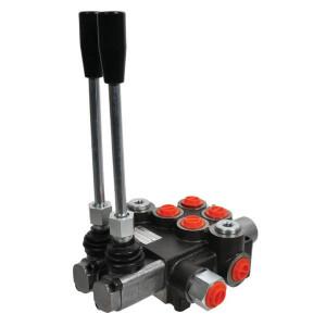 """Gopart Stuurventiel MBV5 A1A1(G3/8)KZ1 C2(G3/8) - MBV52004GP   1-5 secties   250 bar   Nitrilrubber (NBR)   -20 +80   180 bar   60 mm   A1, A1   129 mm   Open circuit   40 l/min   50 bar   3/8""""   Manual operation   Inbusschroef"""