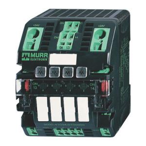 Stuurstroom beveiliging, 4 kan - MICO46   1,2,4,6 A