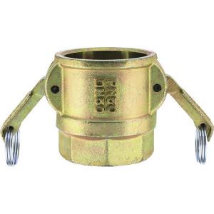 "Lüdecke Snelkoppeling bi.draad 1"" - MIG10X25 | 50 bar | 1"" BSP | 73,5 mm"