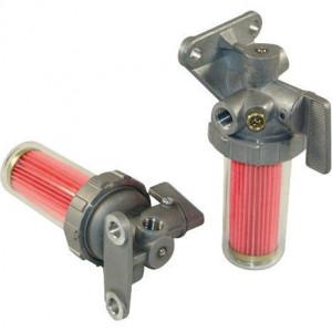 Hifi Brandstoffilter cpl. - MO509   M12 x 1,25 in   M12 x 1,5 uit   2x Ø 8,5