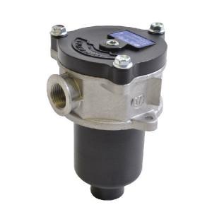 "MP Filtri Retourfilter 1/2 BSP - MPF0301P25 | +Return filter | -25 +110 | Aluminium | nitrilrubber (NBR) | Nominal | 25 µm | 1/2"" BSP | 65 l/min | 1,75 +/10% | MF-030-1-P25 | Papier | 10 bar"