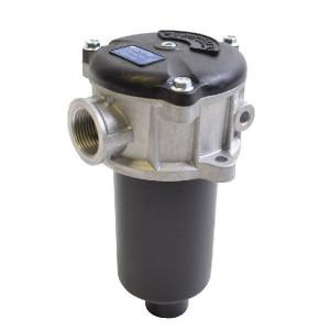 "MP Filtri Retourfilter 3/4 BSP, L=100, A10 - MPF1001A10H | +Return filter | -25 +110 | Aluminium | nitrilrubber (NBR) | Absolute | 100 mm | 120 mm | 10 µm | 3/4"" BSP | 35 l/min | 1,75 +/10% | MF-100-1-A10 | Glasvezel | 10 bar"